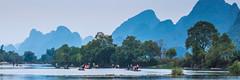 Yulong River dusk (Bridgetony) Tags: china asia southeastasia guilin yangshuo karst guanxi asiapacific