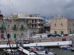 DSC04178 (Katia De Nicolo) Tags: christmas city winter sea sky italy cloud snow clouds wonderful italia mare neve letitsnow 2014 giovinazzo