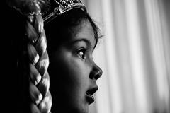 Chiara, staring.. (Matteo Pelucco) Tags: portrait bw chiara ritratto