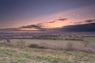 Sunset from Cleadon Hills