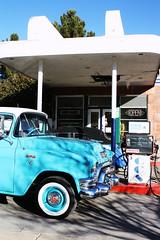 Clarkdale Classic (EllenJo) Tags: auto arizona car vintage mainstreet gasstation canonrebel digitalimage automechanic verdevalley clarkdale 2016 february3 clarkdalearizona ellenjo ellenjoroberts clarkdaleclassic winterinaz