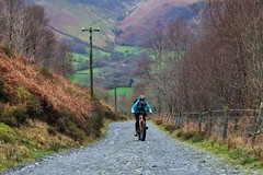 Biking near Dolgoch