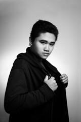 Nguyn Bo Tun (minh_duc91) Tags: portrait people monochrome friend d600