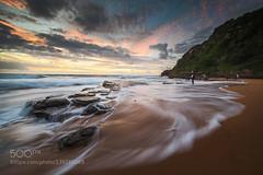 Turi (fotoflatratech) Tags: beach sunrise surf wave australia 500px turimetta ifttt fotoflatrate