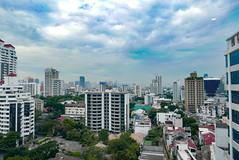 Bangkok, Thailand (Ryosuke Yagi) Tags: sky thailand town bangkok  skyview   thonglo