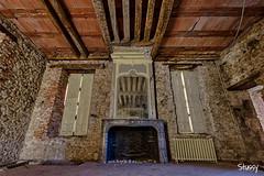 CS-6 (StussyExplores) Tags: france stairs spiral decay social explore villa chateau manor exploration derelict urbex