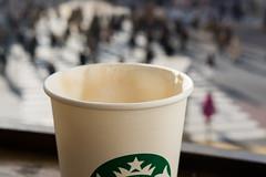Shibuya Starbucks (SMSidat) Tags: city trip morning travel vacation people holiday travelling tourism coffee japan tokyo shibuya citylife tourist wanderlust traveller starbucks yolo