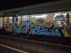 109 (en-ri) Tags: train writing torino graffiti omg azzurro nope wift axyz