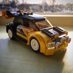 Rallycar front angle (Spongeinside) Tags: lego airborn rallycar expedite octan 60113