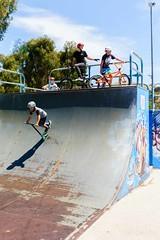 Tuggeranong Skate Park (ajspaldo) Tags: bmx sony australia scooter cycle skate canberra act stunts ajs tuggeranong ajspaldo sonya6000