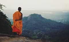 Young Buddhist Monk (MegTegal) Tags: landscape religion culture buddhism srilanka buddhistmonk