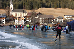 Weissensee 2016, 3e Alternatieve Elfsteden Toertocht (Andrea van Leerdam) Tags: winter austria oostenrijk weissensee ijs schaatsen toertocht natuurijs