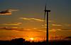 DSC_0994_1 (steffen_hdf) Tags: sunset sun field clouds landscape sonnenuntergang feld wolken landschaft sonne turbines gegenlicht windturbines windkrafträder