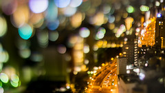 mini truck -  (turntable00000) Tags: japan truck tokyo miniature nightscape bokeh nightview bunkyo bokehlicious extrabokeh