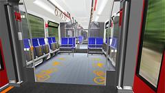 Neue Zge fr die Berliner S-Bahn - Fahrgastraum 3 (metr0p0litain) Tags: train interior transport zug sbahn innenraum rendering nahverkehr transportmittel