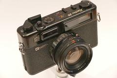 Yashica Electro 35 GT Rangefinder 1969-1970 (rainer.marx) Tags: film analog 35mm rangefinder köln yashica electro35 porz kleinbild kamerabörse