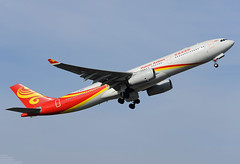 B-8015 A330-300 Hainan Airlines (MM Aviation Photography) Tags: brussels airbus a330 bru ebbr a333 a330300 hainanairlines b8015