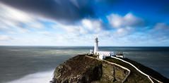 South Stack Light House (Minibert93) Tags: uk longexposure lighthouse water hollyhead