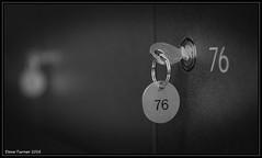 Number 76 (dave turner1) Tags: blackandwhite keys mono key numbers daveturner daveturner1