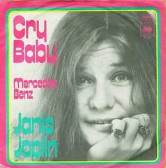 6 - Joplin, Janis - Cry Baby / Mercedes Benz - D -1970 (Affendaddy) Tags: germany mercedesbenz 1970 cbs crybaby janisjoplin 7217 vinylsingles collectionklaushiltscher usrockblues