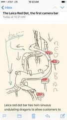Design No. 301: Leica Red Dot, the world's first camera bar (atelier-ying) Tags: leica bar gaijin 007 jamesbond m9 reddot davidlo youonlylivetwice japanesesake zaitensushi atelierying