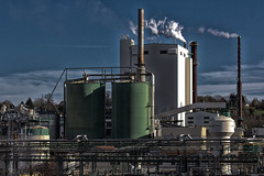 Lusine International Paper de Saillat (Jean-Luc Brunet) Tags: usine saillat