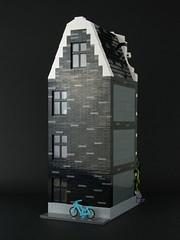 LEGO Modular Building: Book Shop (Palixa And The Bricks) Tags: amsterdam lego bookshop moc canalhouse modularbuilding