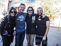 Creative Souls converge on Santa Monica Blvd Misti Cooper, Todd Williamson, Thaddeus Smith and Armando Pizzuti. (rebeccadru) Tags: california usa artists actor westhollywood songwriter healer qigong reikimaster spiritualpeople creativesouls toddwilliamson armandopizzuti spiritualalchemist thaddeussmith rebeccadruphotography misticooper energetichealer spiritualecstasyenterprise convergeonsantamonicablvd