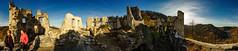 Samobor Castle - 360 (Falcdragon) Tags: light sky panorama building castle stone architecture golden ruin croatia keep walls 20mm fortress f28 amount samobor ilce7 sonya7alpha