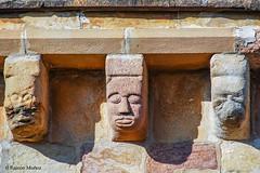 DSC0233 Santa Mara de Eunate, siglo XII, Navarra (ramonmunoz_arte) Tags: santa de arte xii mara navarra templarios siglo romnico eunate