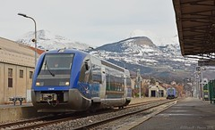 X73638 (Oliver_A) Tags: train alpes gare gap sncf rhone ter ater x73500 x73600 x73638