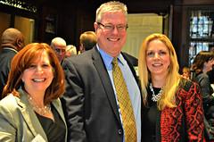 Bethanne Killian, John O'Malley and Theresa Flanagan Murtagh