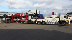 Volvo Recovering Loaded Car Transporter (JAMES2039) Tags: rescue car truck wagon drag volvo cardiff renault lorry breakdown van heavy tow premium towtruck recovery ask iveco wrecker cartransporter 6wheeler fm12 accidentunit underlift wagondrag heavyunderlift askrecovery ca02tow frontsuspend