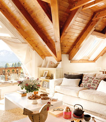 mountain-house-in-spain-01 (ideasandhomes) Tags: wood house mountain design spain interior livingroom dcor