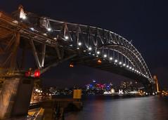 The Coat Hanger (Grant Brodie Photography) Tags: longexposure night australia nsw sydneyharbourbridge 2016 grantbrodiecreativephotography