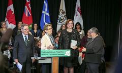 IMG_0827  Premier Kathleen Wynne made an announcement of funding on the Ending Violence Against Indigenous Women Strategy. (Ontario Liberal Caucus) Tags: zimmer aboriginal indigenous meilleur violenceagainstwomen indigenouswomen jaczek maccharles svhap