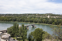 Pont Saint Benezet - View from Rocher des Doms (rfzappala) Tags: bridge france saint europe view des pont avignon rocher languedoc doms 2015 benezet