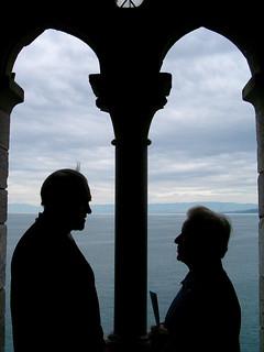 Grosseuter im Schloss Chillon bei Montreux im Kanton Waadt in der Schweiz