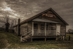 Old Abanded Grocery Store (Klaus Ficker --Landscape and Nature Photographer--) Tags: old usa storm canon store kentucky oldhouse milf oldbuilding cumberland rual easternkentucky cumberlandlake grovery abandedhouse eos5dmarkii kentuckyphotography klausficker usedmilfhouse
