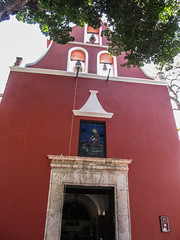 "Merida: l'église Santa Lucia <a style=""margin-left:10px; font-size:0.8em;"" href=""http://www.flickr.com/photos/127723101@N04/25314177984/"" target=""_blank"">@flickr</a>"