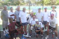 Peregian Tennis Club Friday men's group 872