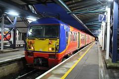 456021 (matty10120) Tags: station train transport rail railway trains class guildford 456