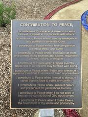 Contribution to Peace (frankrolf) Tags: amorc rosicrucianegyptianmuseum