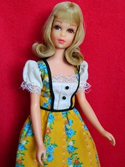VINTAGE MOD BLONDE FRANCIE TNT BARBIE DOLL w/ PRETTY FRILLY OUTFIT (laika*2008) Tags: vintage outfit mod doll pretty w barbie blonde tnt francie frilly