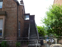 SC6-207 - Uddingston - stairs opposite Lower Millgate (Droigheann) Tags: udd