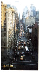Lexington Ave Downtown View (Hunter College Archives) Tags: bridge downtown view traffic yearbook hunter 1995 lexingtonave huntercollege wistarion thewistarion
