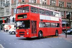 Lainton (Ashall), Gorton 124 (B24 TVU) (SelmerOrSelnec) Tags: bus manchester piccadilly dennis gorton gmt railreplacement dominator northerncounties b24tvu ashall lainton