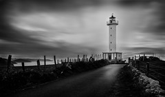The Lighthouse (tmuriel67) Tags: longexposure sky bw lighthouse blancoynegro nature faro outdoors blackwhite spain nikon asturias lastres largaexposicion ndfilters