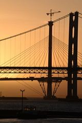 Forth Bridges at Sunset (Derot558) Tags: sunset scotland nikon edinburgh bridges forth d810