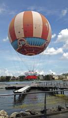Hot Air Balloon Ride at Disney Springs (kittykat7) Tags: florida hotairballoon wdw waltdisneyworld downtowndisney hotairballoonride disneysprings